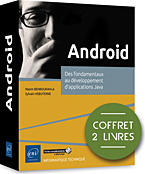 Android, livre android, nougat, androïd, sdk android, jse, jee, tablette, smartphone, applications, appli, google, java, fragment, eclipse, appwidget, widget, mobilité, in-app, lvl, nfc, kitkat, volley, android studio