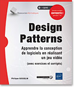 livre design pattern - jeu video - jeu vidéo - IA - intelligence artificielle - patron de conception - UML