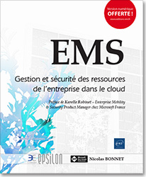 EMS - Gestion et sécurité des ressources de l'entreprise dans le cloud, livre sécurité , securite , enterprise mobility suite , security , microsoft , azure ad , intune , azure information protection , ata , advanced threat analytics , active directory , cloud app discovery