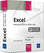 Excel (versions 2019 ou Office 365) - L'intégrale