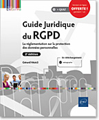 Guide Juridique du RGPD (2e édition), GDPR, CNIL, protection des données, Privacy by design, Privacy by default, PIA, DPO, LIL, LNDP2GJRGPD