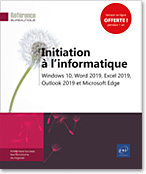 Initiation à l'informatique, Office, Windows, Micro-informatique, Internet, Word2019, Excel2019, Outlook2019, Office 2019, Office2019, Microsoft, Office 365, LNRB1019INI