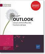 Outlook (versions 2019 et Office 365), Microsoft, message, e-mail, mail, calendrier, contact, tâche, notes, spam, Outlook2019, Outlook19, LNRB19OUTFB