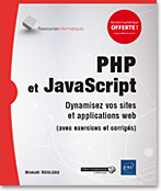 PHP - JavaScript - HTML - CSS - site web - applications web