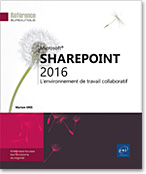 Intranet - site d'équipe - bibliothèque de documents - versioning - partage de documents - tâche - calendrier - forums de discussion - en quêtes - contacts - wiki - centre de recherche - blog - livre sharepoint - sharepoint 2016