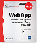 application web - JS - CSS - PHP - jQuery - multiplateforme - LNRIWAPP