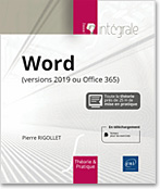 Word 2019 (version 2019 ou Office 365) - L'intégrale