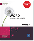 Word - versions 2019 et Office 365