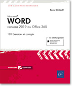 Word - versions 2019 ou Office 365