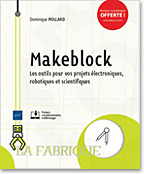 Makeblock, livre maker, steam, blocs, neuron, Codey Rockey, Intelligence artificielle, Knime, mblock