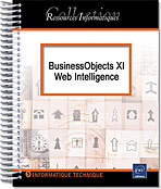 BusinessObjects XI - Web Intelligence