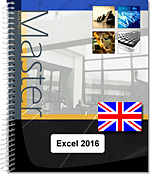 Excel 2016 - (E/E) :Text in English with the English version of the software