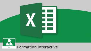 Formation Excel 2016 - Maîtrisez les bases essentielles - Valable 1 an, à volonté,