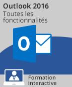 Formation Outlook 2016 - Toutes les fonctionnalités d'Outlook à votre portée,