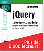 jQuery, livre jquery, CSS, DOM, AJAX, plugin, focusin, focusout
