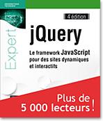 jQuery, livre jquery, CSS, DOM, AJAX, plugin, focusin, focusout