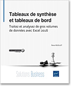 Tableaux de synth�se et tableaux de bord, Microsoft, synth�se, tableaux de bord, tableaux de donn�es, importation de donn�es, data, powerpivot, power pivot