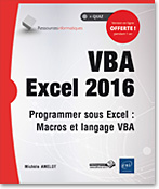 VBA Excel 2016, microsoft,  macro-commande, macro commande, office, api, excel vba, excel 2016, office 2016
