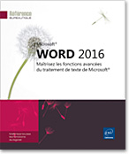 Word 2016, Microsoft, plan, table des mati�res, document ma�tre, mailing, publipostage, suivi des modifications, Word2016, Word16, co-�dition