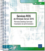 Services RDS de Windows Server 2016, livre RDS, hyper-v, hyper v, app-v, app v, virtualisation, Bureau à distance, client léger